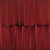 red veil painting 15 by sylke von gaza
