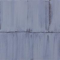 small grey veil painting 5 by sylke von gaza