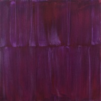 transparent purple aurora painting 2 by sylke von gaza