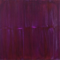 transparent purple aurora painting i by sylke von gaza