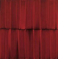 red veil painting 16 by sylke von gaza
