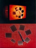 glass pieces, life slices by iole de freitas