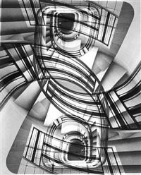 sans titre, 1950 (escaliers) by rené-jacques