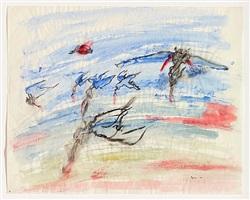 war, birds of prey by nancy spero