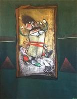 saturno jugando con sus hijos (sold) by pedro pablo oliva