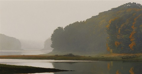 autumn haze (sold) by peter bergeron