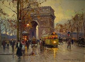 arc de triomphe by edouard léon cortès