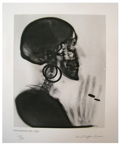 x-ray by meret oppenheim