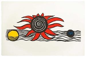 la terre, le soleil et la lune by alexander calder