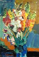 bouquet bleu by pierre ambrogiani
