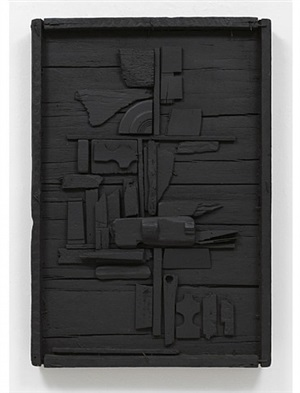 night flower one by louise nevelson