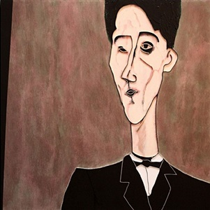 jean cocteau (after modigliani) by lee waisler