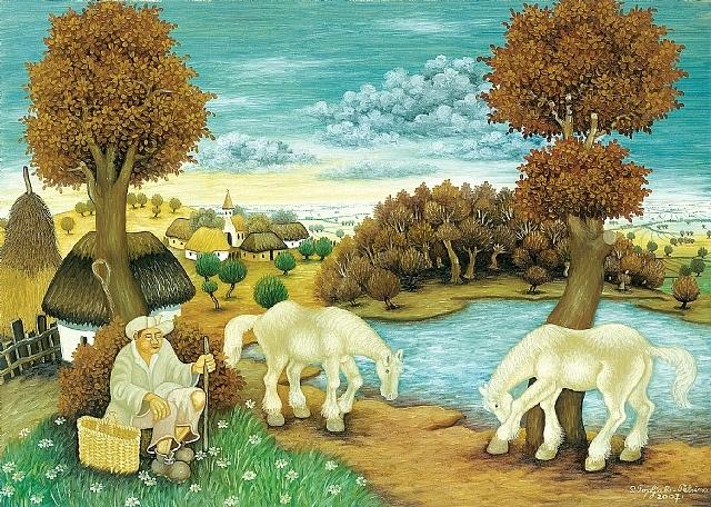 horses by pero topljak petrina