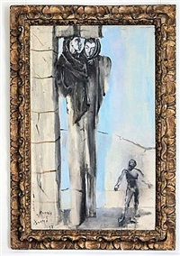 caryatides by christian bérard