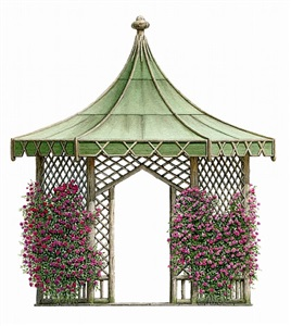 rustic arbor by bernd h. dams and edward andrew zega