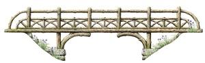 rustic bridge by bernd h. dams and edward andrew zega