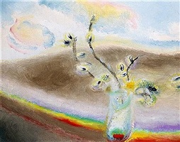 palm by winifred nicholson