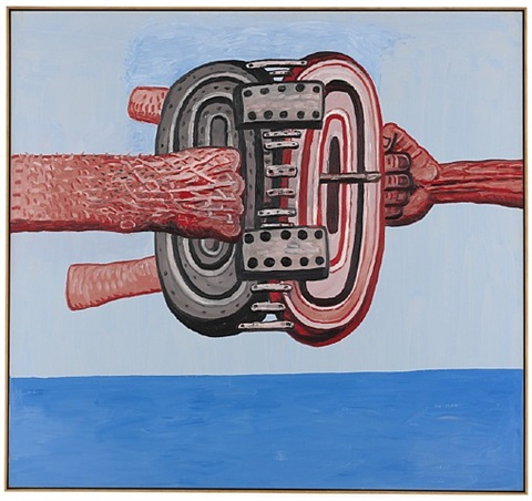 hinged by philip guston