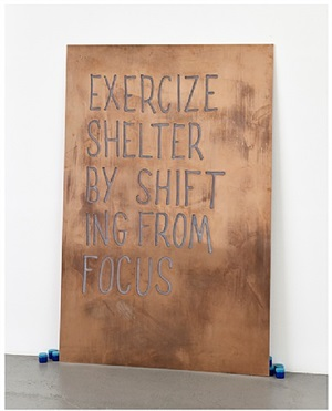 exercise shelter by shifting from focus by navid nuur