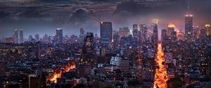 blazing city by david drebin