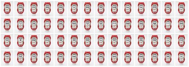 sign, tomato ketchup by tomoko sawada