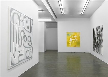 installation view, simon lee gallery, london by jeff elrod