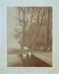 paysages by charles-marie dulac