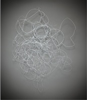 untitled wire composition #1 by jill bonovitz