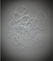 untitled wire composition #1 by jill bonovitz