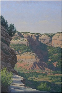 canyon ledge by steve armes