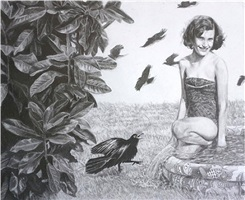 carol and the grackle by myla bertinot