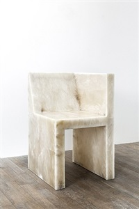 half box (alabaster) by rick owens