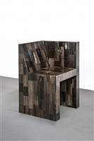half box (petrified wood) by rick owens