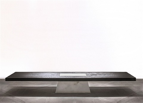 plug table (alabaster) by rick owens