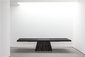 plug table (petrified wood) by rick owens