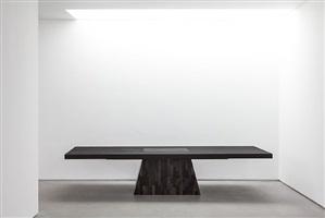 plug table (petrified wood) by rick owens
