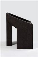 swan (black plywood) by rick owens