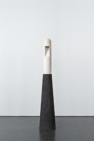totem white marble and concrete lamp by rick owens