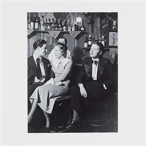 "at ""the monocle"" (lesbian bar) by brassaï"