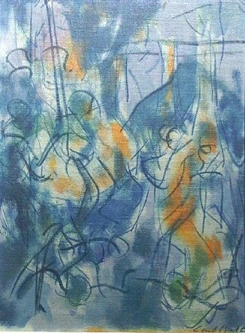 untitled abstraction by carl robert holty