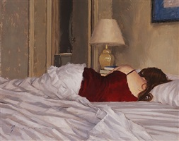 sleeping in (sold) by vincent giarrano