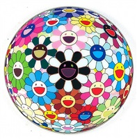 flowerball - blood by takashi murakami