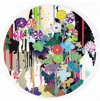 i recall the time when my feet lifted off the ground, ever so slightly by takashi murakami