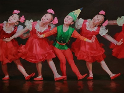 childhood in north korea no.2 by chen liangjie
