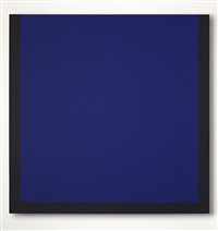 blau + schwarz am rande by winfred gaul