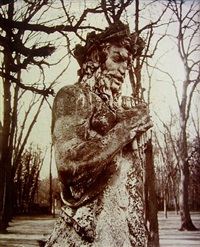 versailles, faune by eugène atget