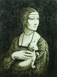 (0337) ef appropriazione – la dama con l'ermellino by enzo fiore