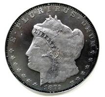1879 morgan silver dollar by ken kalman