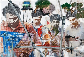 hallucinations of a passer-by by jitish kallat