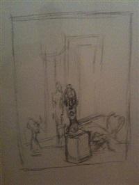 l'atelier 1955 (essay für schweizer graphische gesellschaft) by alberto giacometti